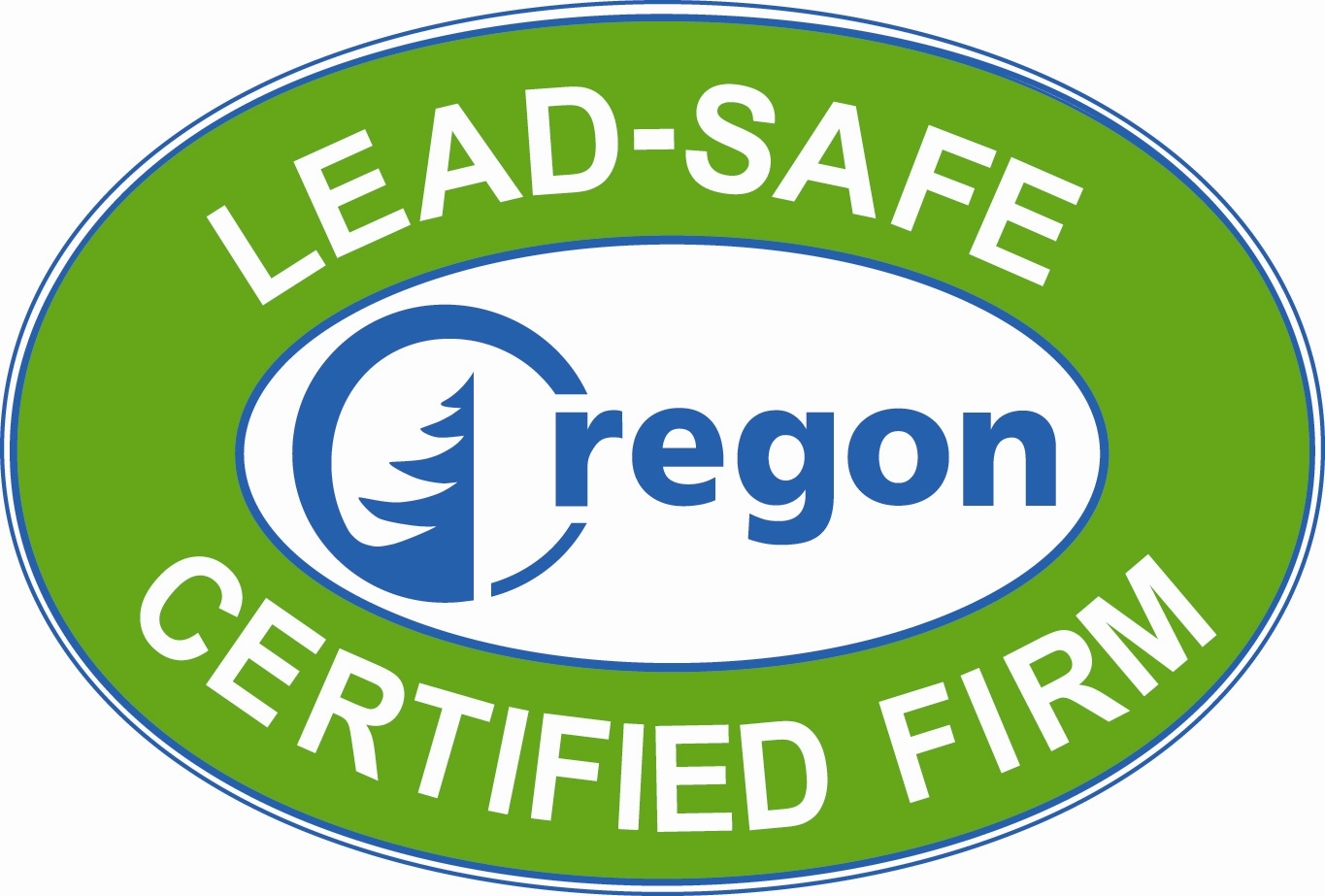 Lead Safe Certified Logo - Oregon Home Builders Association - Oregon HBA